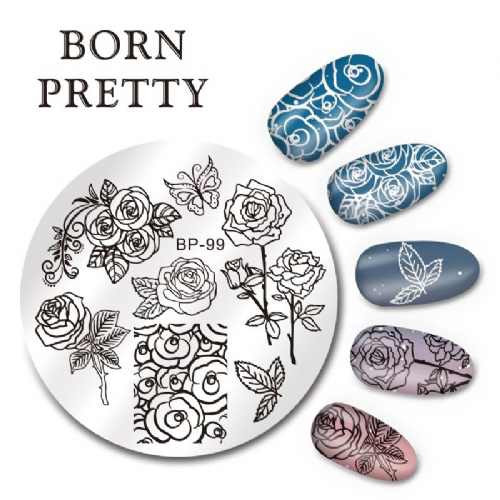 Born Pretty Plate # BP-99